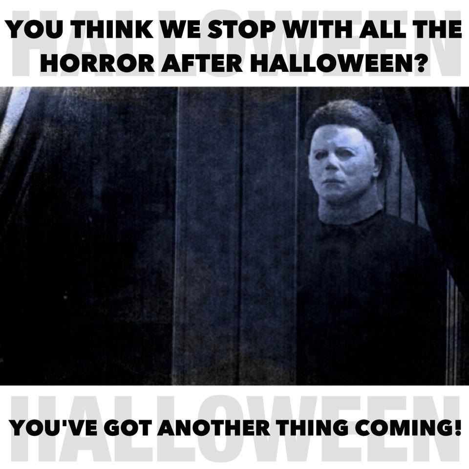 Halloween meme Michael Myers