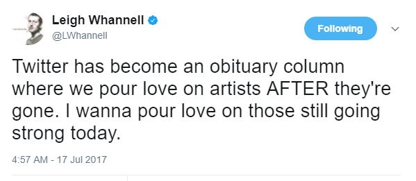 Leigh Whannell Tweet