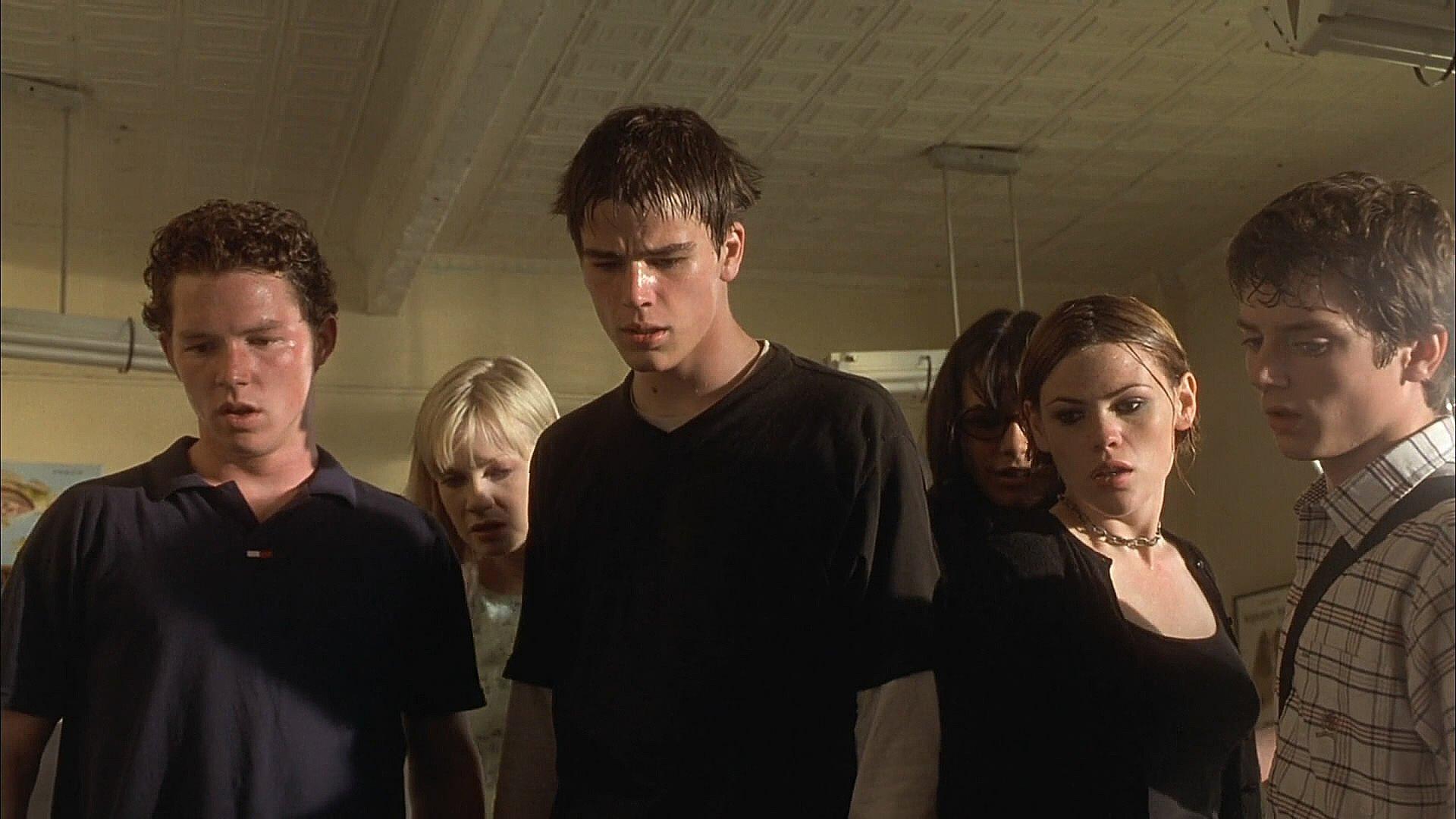 The Faculty cast