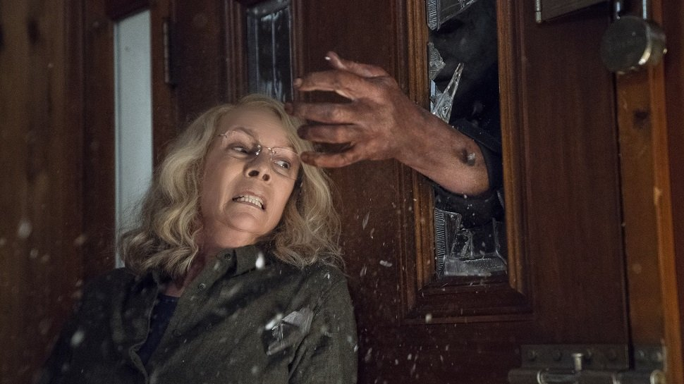 Michael attacking Laurie