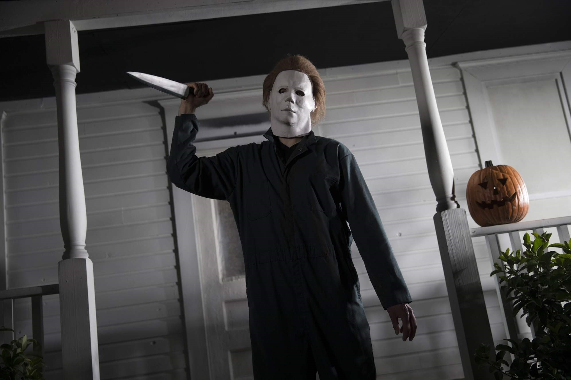 Michael Myers with knife