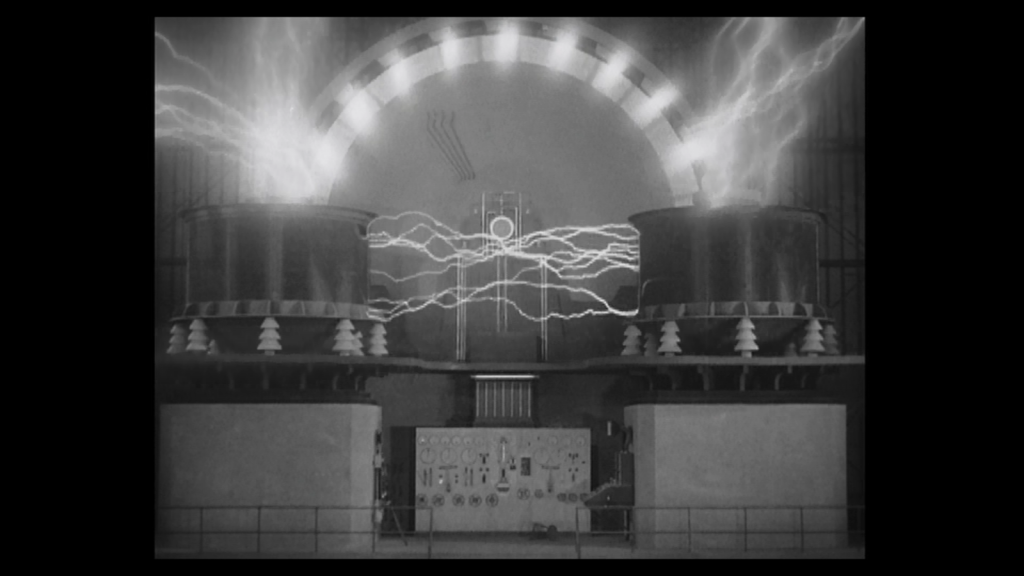 The technology in Metropolis film