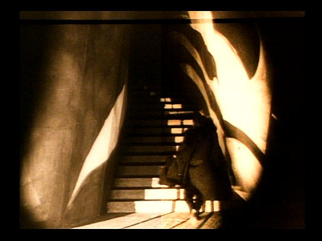 The stairs in The Cabinet of Dr Caligari