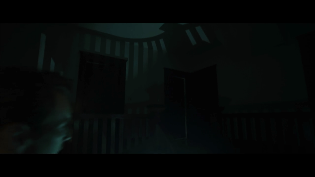 Shadows from the staircase in Insidious