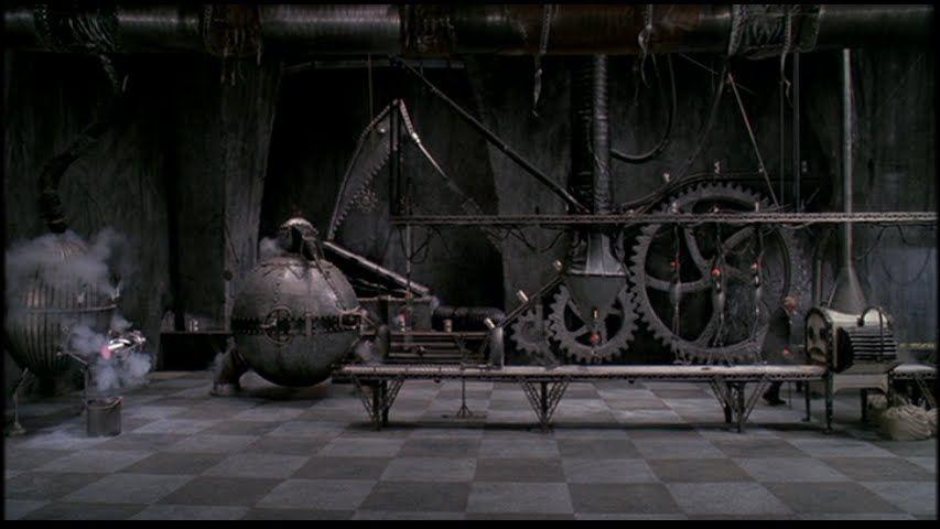 The inventor's machines in Edward Scissorhands