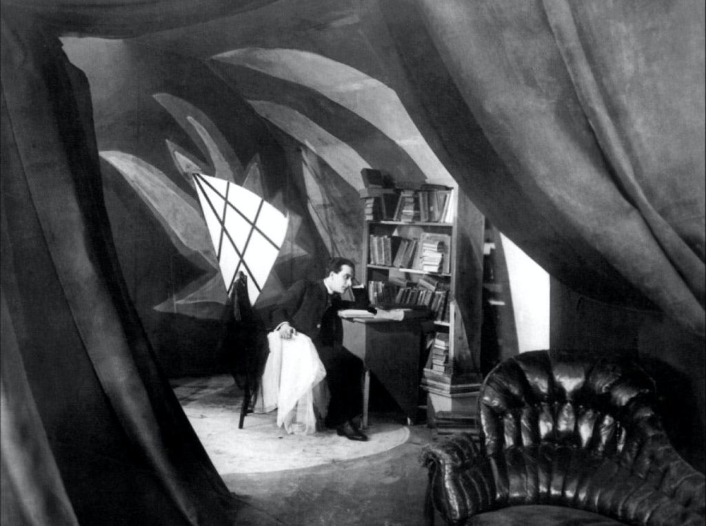 Franzis's room in The Cabinet of Dr Caligari
