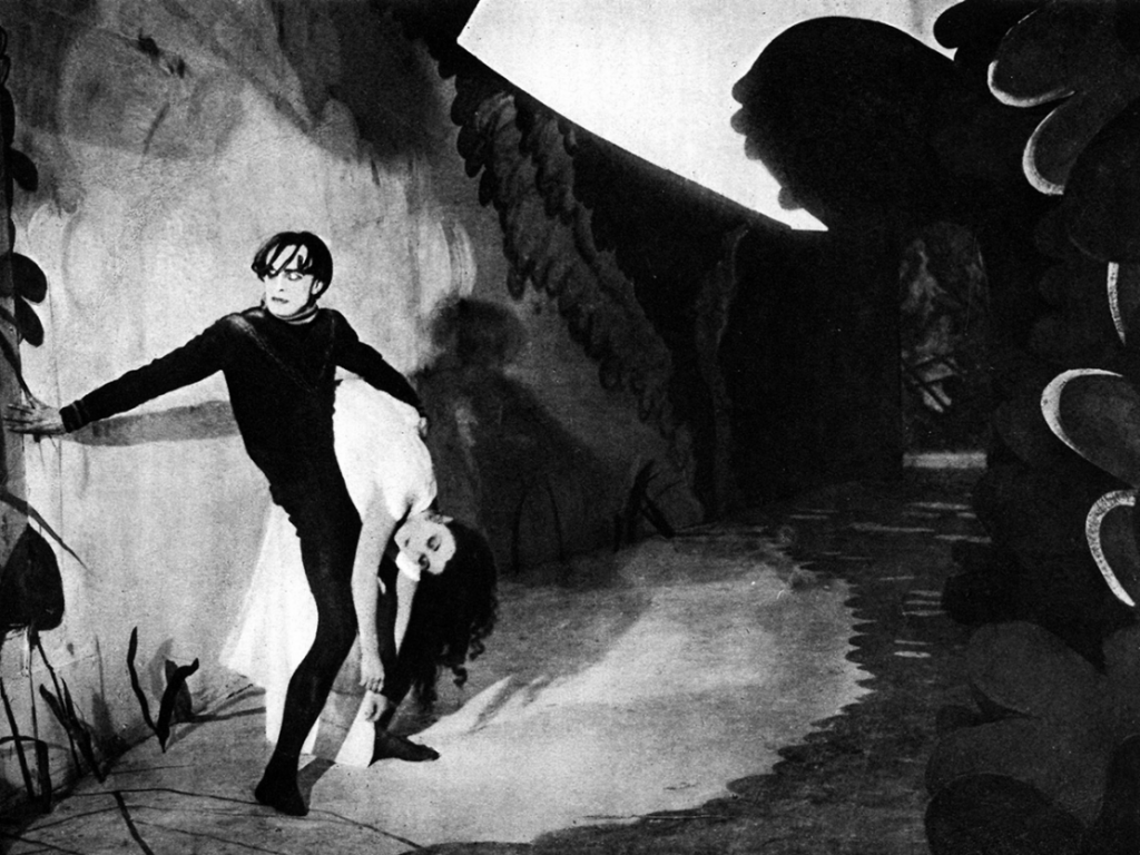 Cesare kidnaps Jane The Cabinet of Dr Caligari