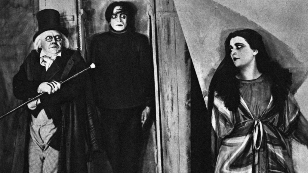 Caligari, Cesare, and Jane The Cabinet of Dr Caligari