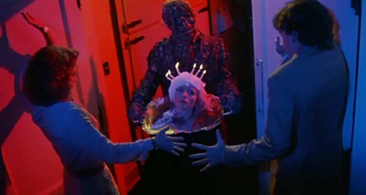 Still from the Father's Day segment in Creepshow