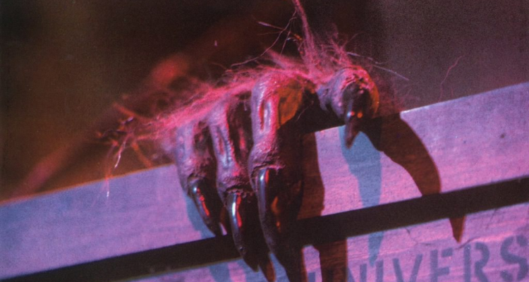 Still from The Crate segment in Creepshow
