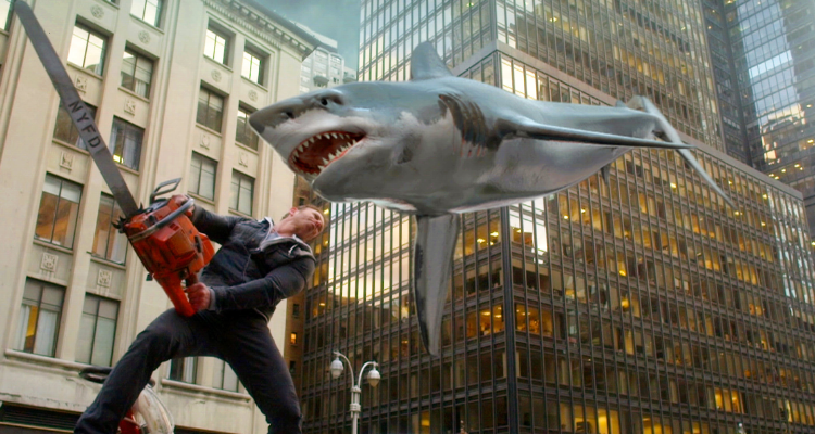 Still of shark horror, Sharknado 2: The Second One