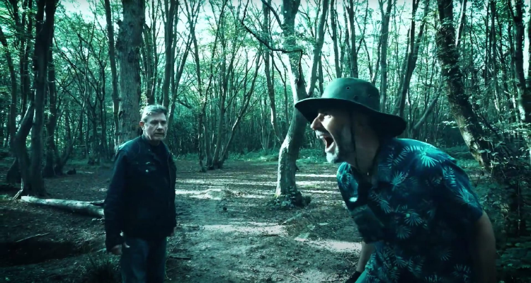 Still of Flowers for the Dead, set in Abbots Wood.