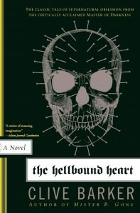 Photo of The Hellbound Heart book cover.