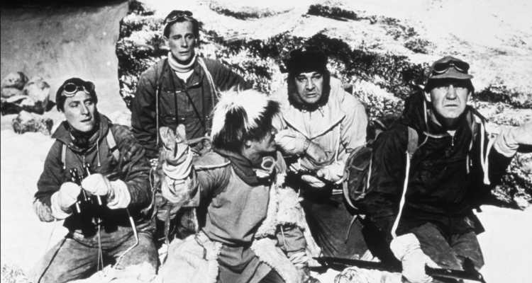 Still from Hammer Horror's The Abominable Snowman