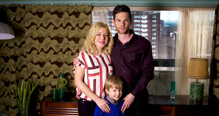 Still of the family in 12 Days of Christineepisode of Inside No. 9.