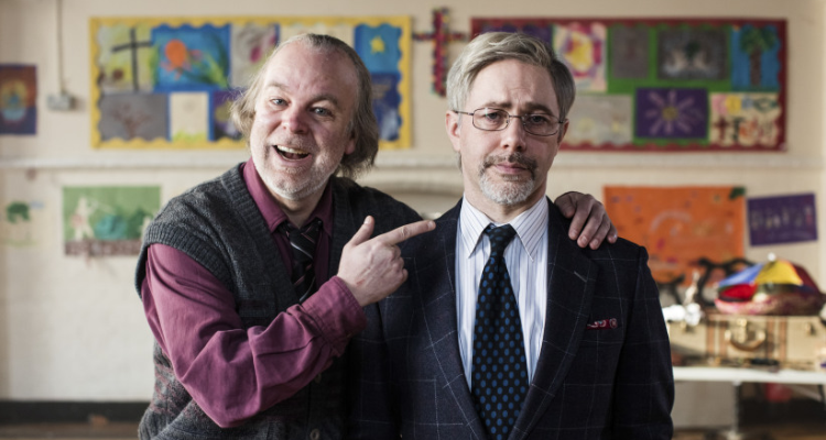 Comedy partners in Bernie Clifton's Dressing Room episode of Inside No. 9