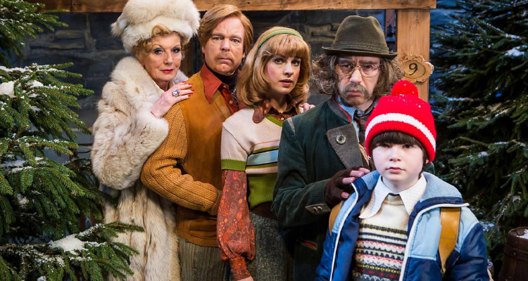 Family potrait of the characters of The Devil Of Christmas episode of Inside No. 9