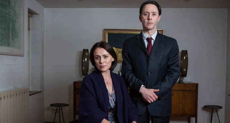 Keeley Hawes and Reece Shearsmith in Diddle Diddle Dumpling episode of Inside No. 9