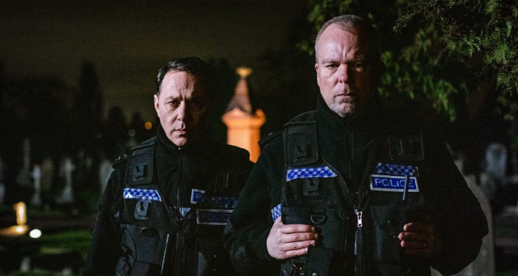 Pemberton and Shearsmith as cops in The Stakeout episode of Inside No. 9