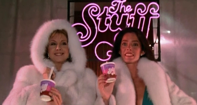 Two ladies in a commercial for The Stuff