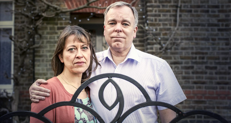 Harriet and Adrian in To Have and To Hold episode of Inside No. 9.