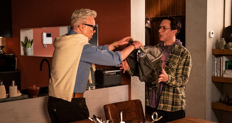 Steve Pemberton and Reece Shearsmith arguing in Inside No. 9 episode Simon Says.