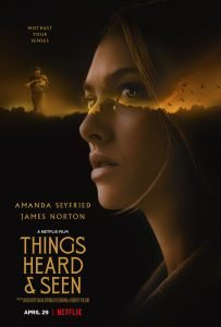 Film poster for Things Heard and Seen