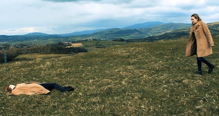 Gwyneth Rhianwen approaching her own body in Fated.