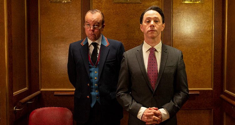 Reece Shearsmith and Steve Pemberton in How Do You Plead?.
