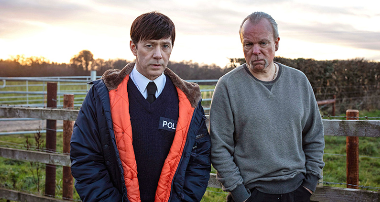 Reece Shearsmith and Steve Pemberton in Hurry up and Wait.