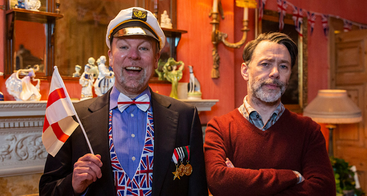 Steve Pemberton and Reece Shearsmith in Last Night of the Proms