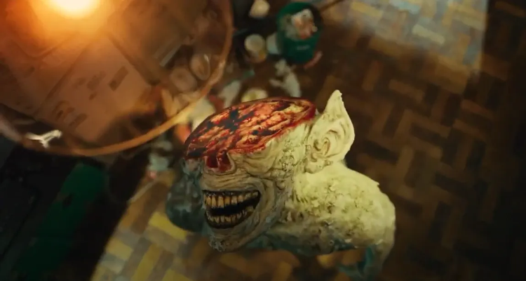The Blind Monster in Sweet Home.