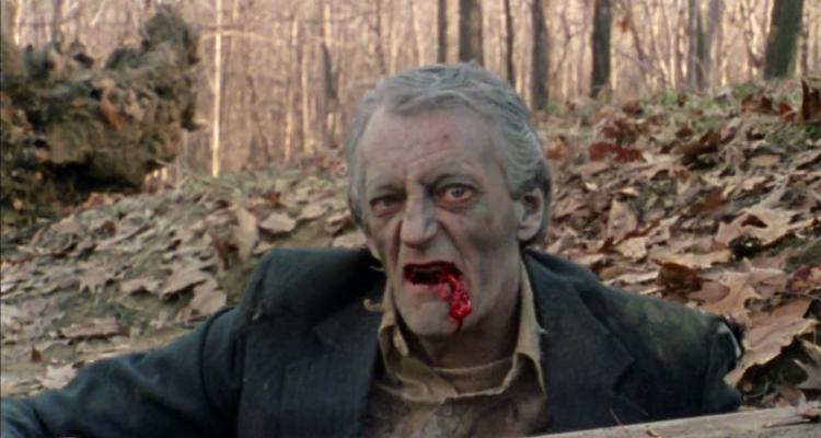 Bill Hinzman as the Flesh Eater in Zombie Nosh