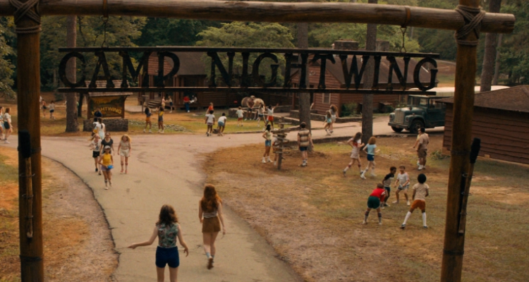The entrance to Camp Nightwing - the setting for Fear Street 1978