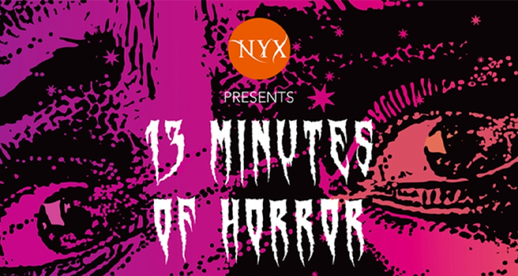 13 Minutes of Horror logo: a sketch of a scared looking face
