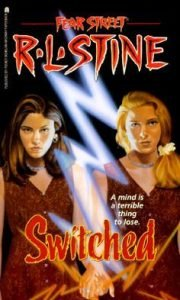 The book cover for R.L. Stine's Switched.