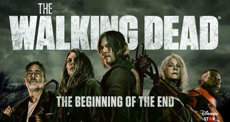The Walking Dead season 11 poster.