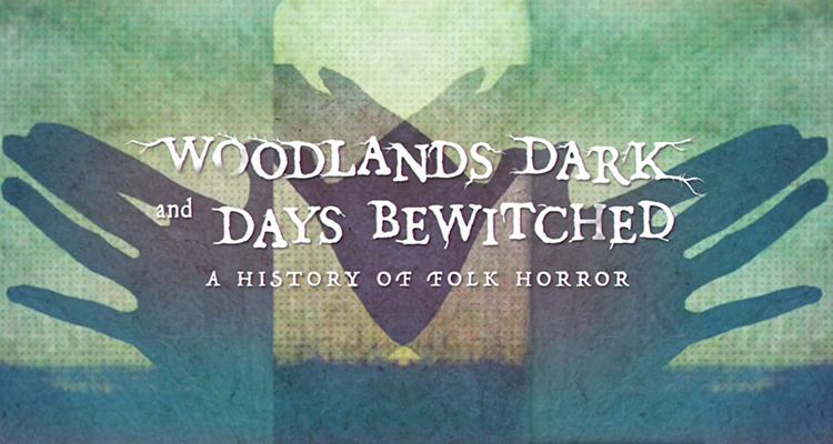 Opening title screen for Woodlands Dark and Days Bewitched