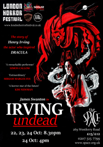 Poster for Irving Undead.