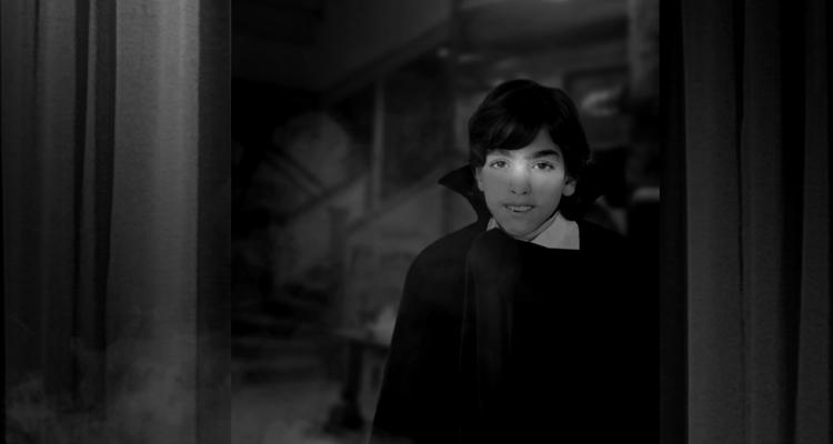 Tom Savini in his Dracula costume. Still from Smoke and Mirrors documentary.